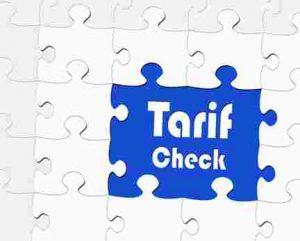 Tarif Check